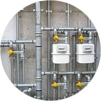 Verifiche tenuta tubazione gas